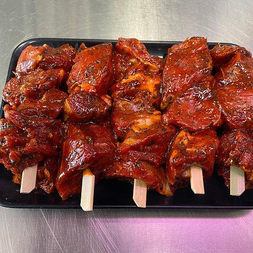 Lamb Cielo Rosso Kebabs