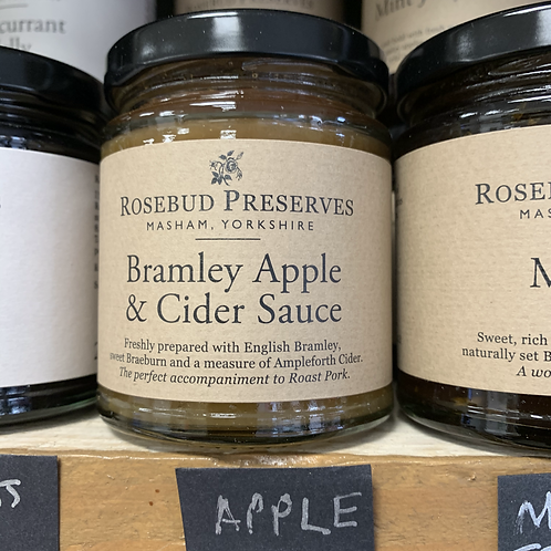 Bramley Apple & Cider Sauce