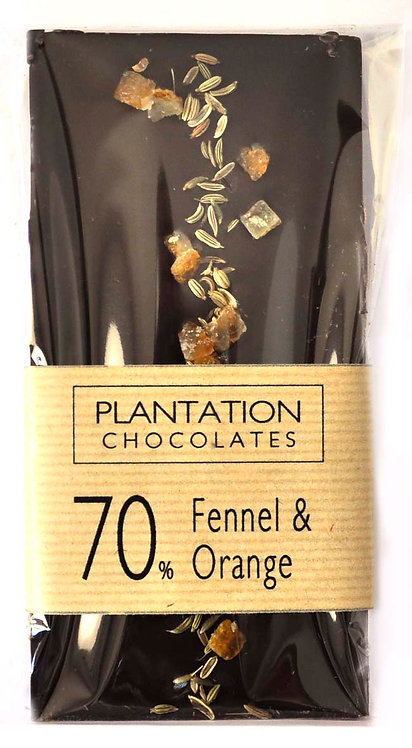 70% Dark Chocolate & Fennel & Orange