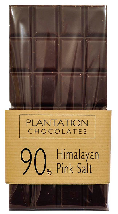 90% Chocolate with Himalayan Pink Salt