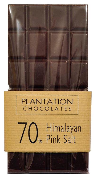 70% Dark Chocolate & Himalayan Pink Salt