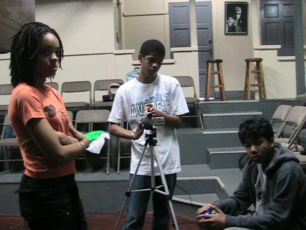 The_youth_of_the_Petals_TV_Crew_decide!_It's_their_call...Leah_-_ProducerAaron_-_Camera.