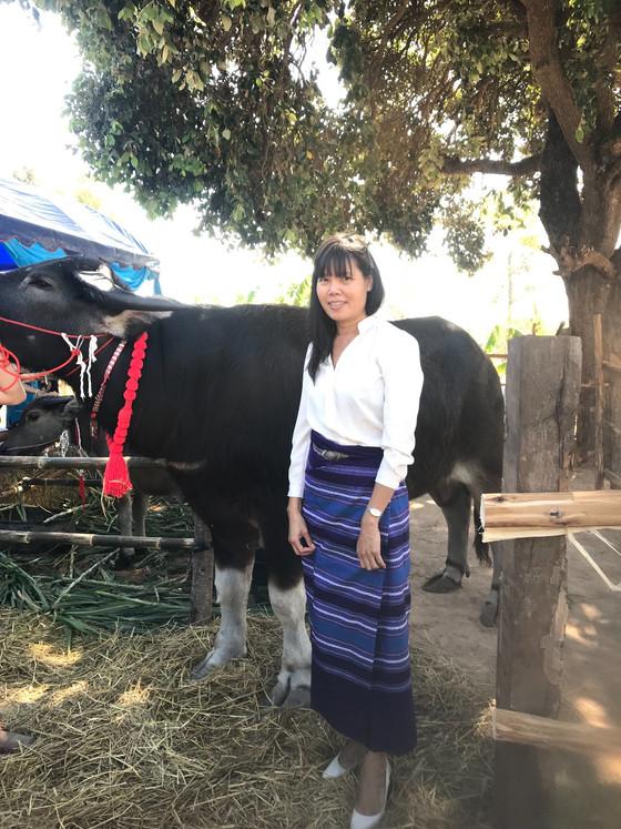 Heritage Cultural Ceremony of Phu Tai Minority, Thailand.