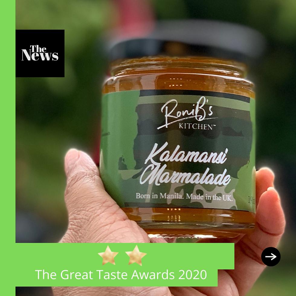 We Got 2-Stars At The Great Taste Awards 2020!
