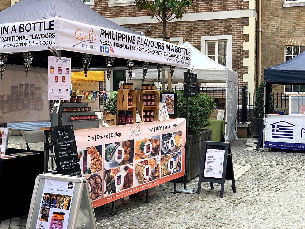 We are joining Horsham Market
