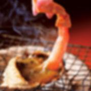 カニの甲羅焼き