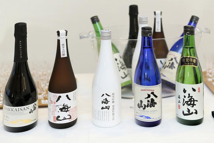 ペアリングした日本酒「八海山」