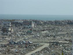 ギトリスが訪れた震災から2か月後の石巻市内の状況