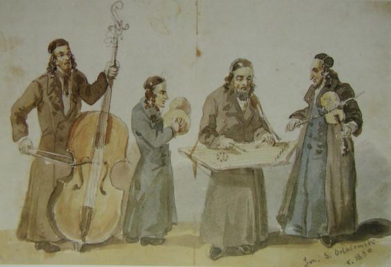 19世紀前半のクレズメル楽師