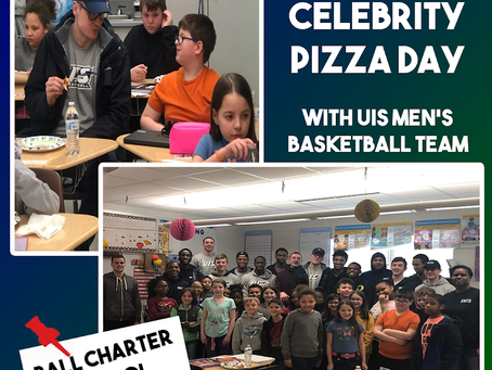 Celebrity Pizza Day with UIS MBB