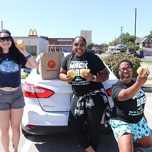 Free Cheeseburger Pass out