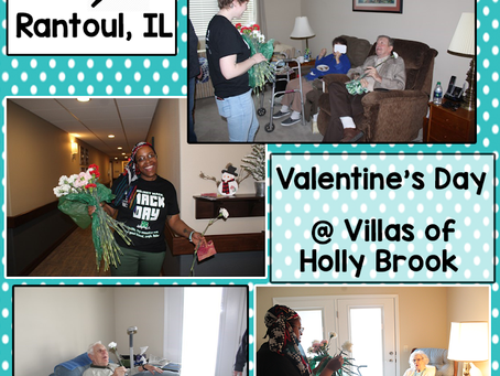 Valentine's Day at Holly Brook