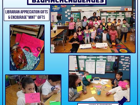 "Librarian Appreciation & Encourage""mints"" Bigmack Classrooms"