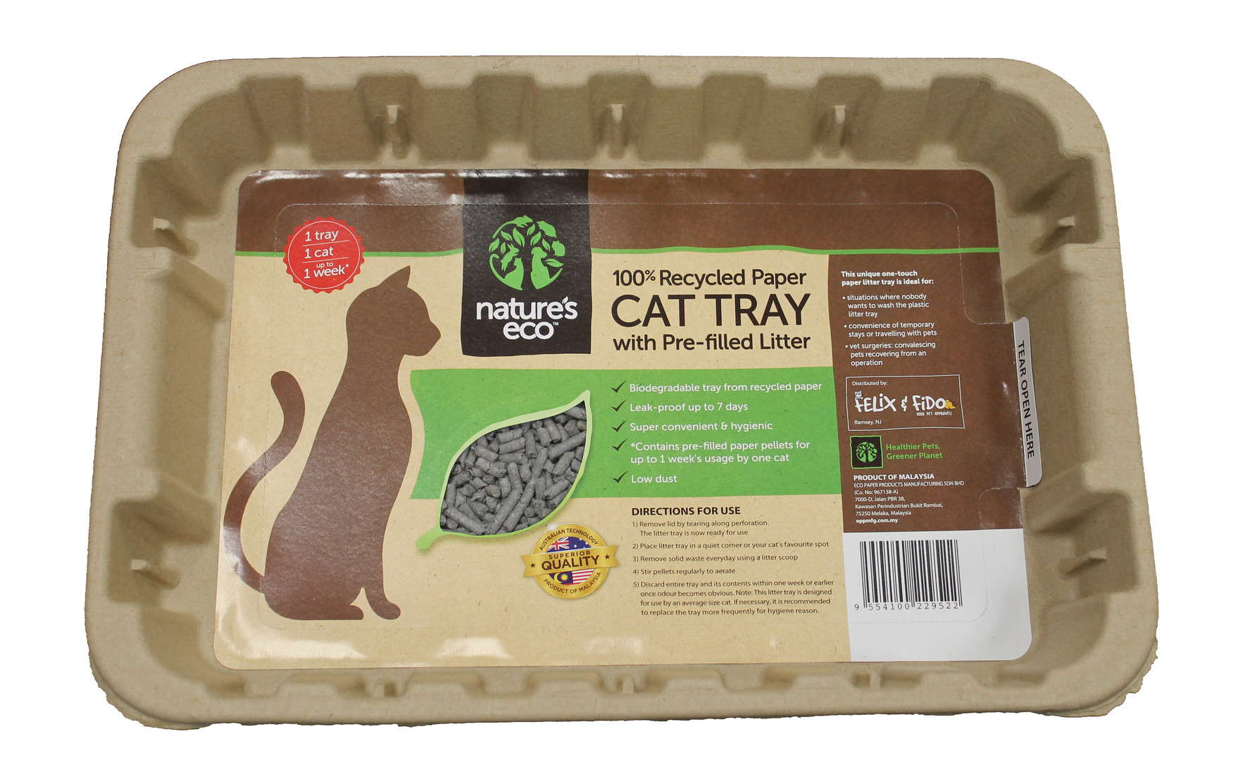 Cat tray