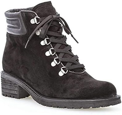 Gabor Women's Lace Up Boot 96.095.47 - Black