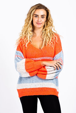 Soft Acrylic Stripe Jumper