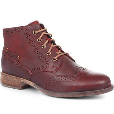 Sienna 15 Leather Brogue Ankle Boot