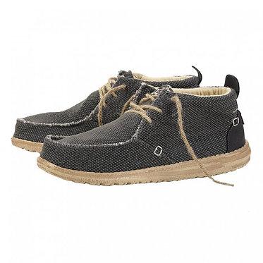 HEY DUDE Conrad Natural Black Chukka Boot