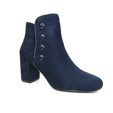 GLE078 Larni Block Heel Ankle Boot