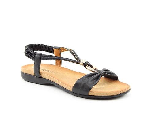Heavenly Feet Campari Black