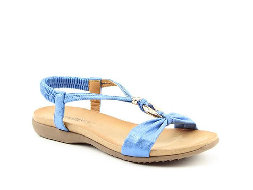 Heavenly Feet Campari Blue