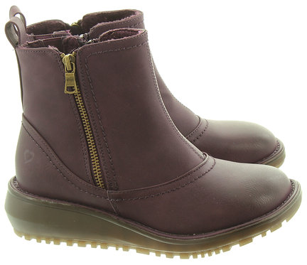 Heavenly Feet Darcie Vegan Comfy Ankle Boots