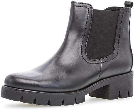 Gabor 51.710.27 Zip-up Leather Ankle Boots