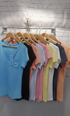Brush Cotton T-shirts