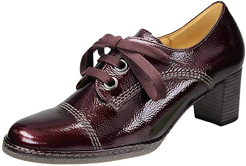 Gabor 91.111.95 Milled Patent Leather Shoe