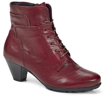 Gabor National Ladies Lace Up Ankle Boots