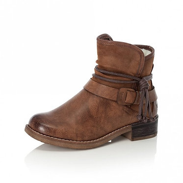 Rieker 94689 Zip up Ankle Boots