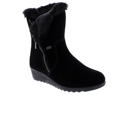 RIEKER X2470-00 LADIES BLACK 'TEX' BOOTS