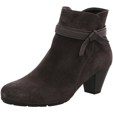 Gabor TIFFEY 95.642.37 Grey Suede Ankle Boot