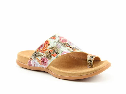 Heavenly Feet Beverley Sandal Mint-Floral