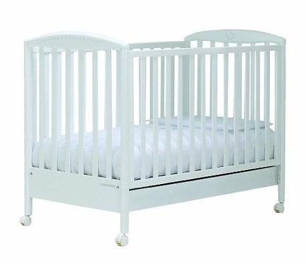 Cristallino Cot Bed - adjustable side