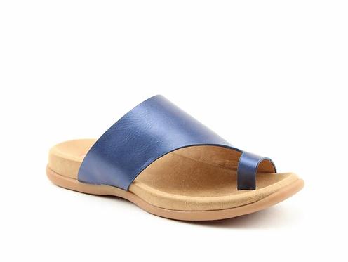Heavenly Feet Beverley Sandal Navy