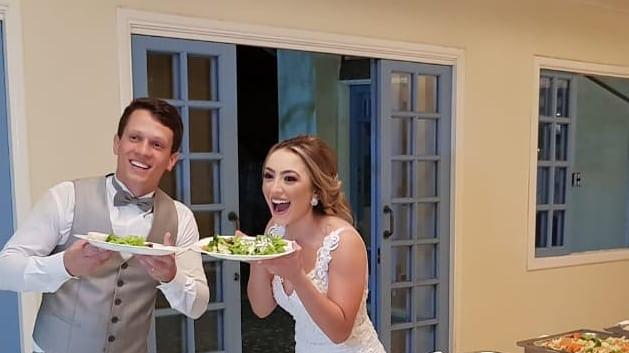 Casal lindos.💑 #buffetrochas #casamento