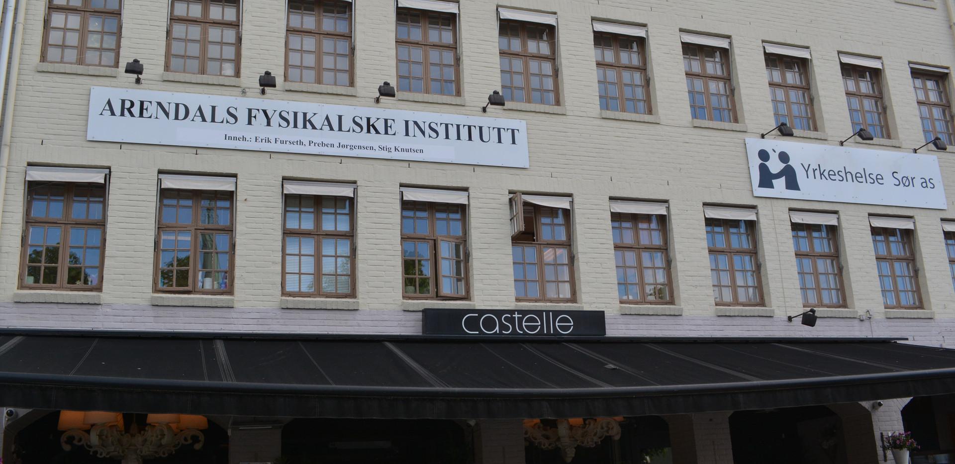 Instituttet utenfra
