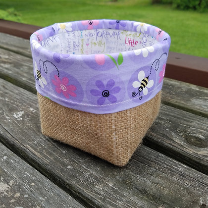 Purple Bumble Bee