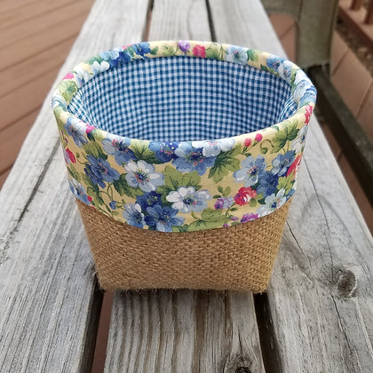 Summer Florals Forever mini basket