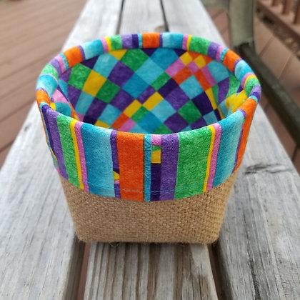 Rainbow Explosion mini basket