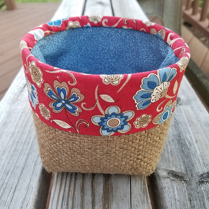 Forget Me Not mini basket