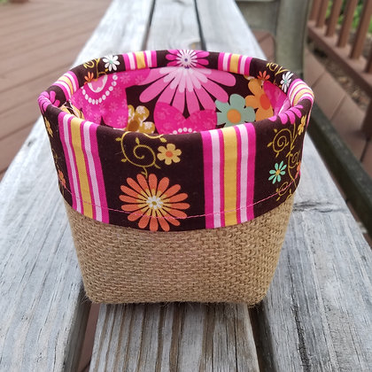 Hot Pink Pop mini basket