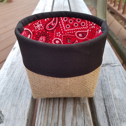 Bandana Love mini basket