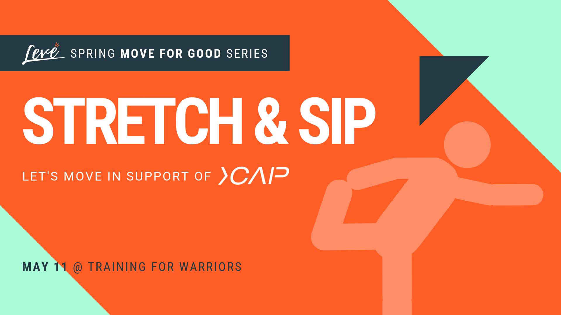 Stretch & Sip Fundraiser Event