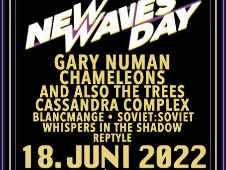 New Waves Day 2022 live mit Gary Numan
