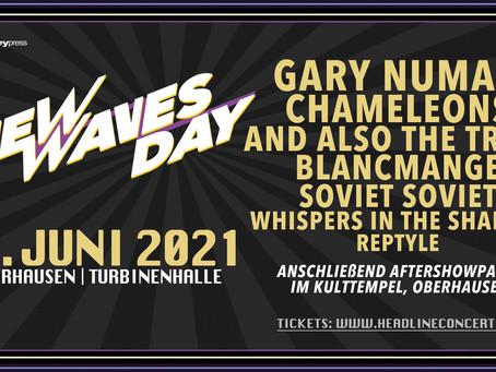 New Waves Day 2021 live mit Gary Numan