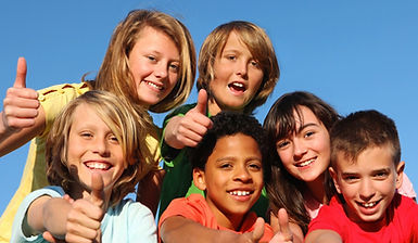 bigstock-happy-kids-with-thumbs-up-16236