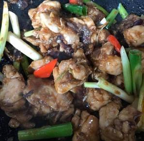 Dapur Mariae's Chili Chicken (Spicy)