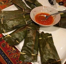 Otak Otak (see starter menu for more information)
